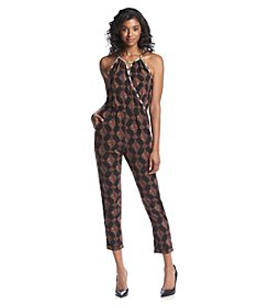 XOXO® Printed Jumpsuit