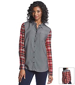 Kensie® Plaid Shirt