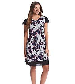 Kensie® Blurry Floral Dress