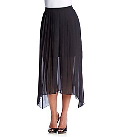 Kensie® Pleated Maxi Skirt
