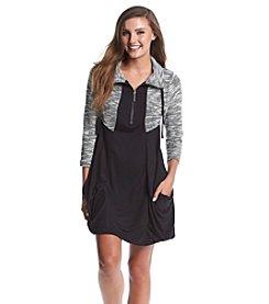 Kensie® Spacedye Drapey Dress