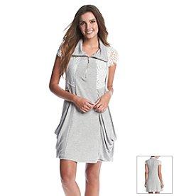 Kensie® Lace Drapey Dress