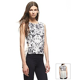 KIIND OF Printed High-Low Tank