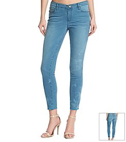KIIND OF Smoke Skinny Jeans