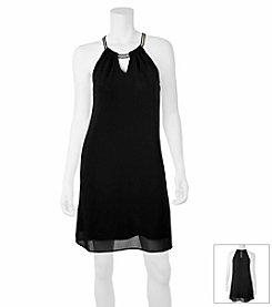 A. Byer Chain Dress