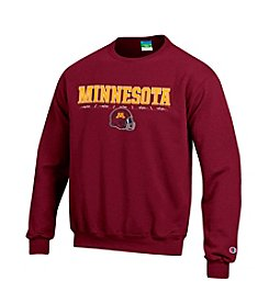 Champion® Men's Minnesota Football Helmet Crew Neck Sweatshirt