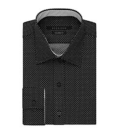 Sean John® Men's Dot Pattern Long Sleeve Button Front Shirt