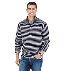 Nautica® Men's Stripe 1/4 Zip Pullover