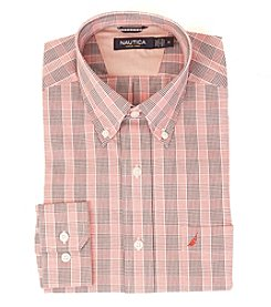 Nautica® Men's Long Sleeve Large Plaid Button Down