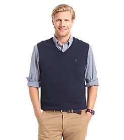 Izod® Men's Big & Tall Fine Gauge Sweater Vest