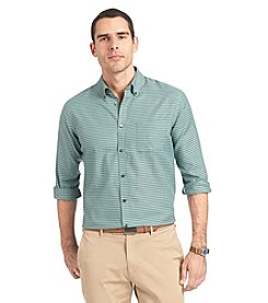 Van Heusen® Men's Long Sleeve Stripe No Iron Button Down