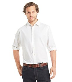 Van Heusen® Men's Long Sleeve Sateen Stripe Button Down