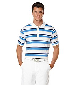 Callaway® Men's Short Sleeve Roadmap Stripe Polo