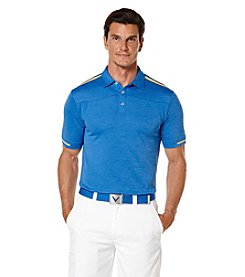 Callaway® Men's Short Sleeve Heathered Sport Block Polo