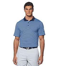 Callaway® Men's Short Sleeve Pencil Stripe Polo