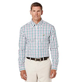 Jack Nicklaus Men's Long Sleeve Plaid Button Down