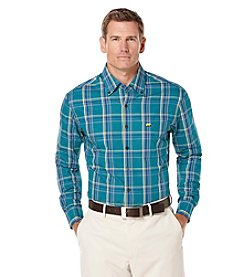 Jack Nicklaus Men's Long Sleeve Tartan Plaid Button Down