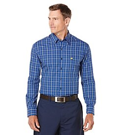 Jack Nicklaus Men's Long Sleeve Tattersal Button Down