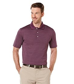 PGA TOUR® Men's Short Sleeve Mini Stripe Polo