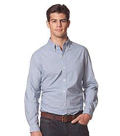Chaps® Men's Long Sleeve Striped Poplin Shirt