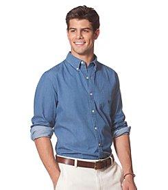 Chaps® Men's Long Sleeve Chambray Sport Shirt