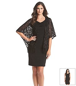 AGB® Lace Jacket Dress
