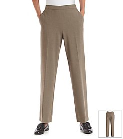 Briggs New York® Flat Front Pull-On Pants