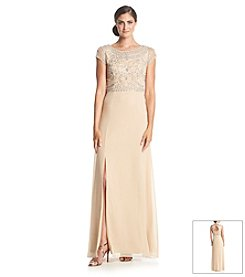 Adrianna Papell® Beaded Bodice Gown