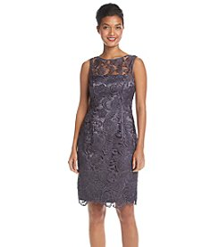Adrianna Papell® Illusion Lace Dress