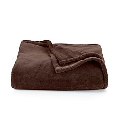 LivingQuarters Chocolate Micro Cozy Throw