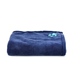 John Bartlett Pet Navy Micro Cozy Throw
