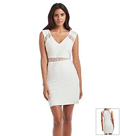 GUESS Lace Inset Dress