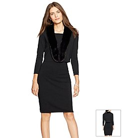 Lauren Ralph Lauren® Dress And Cardigan Set