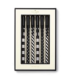kate spade new york® Dots And Stripes Pen Set