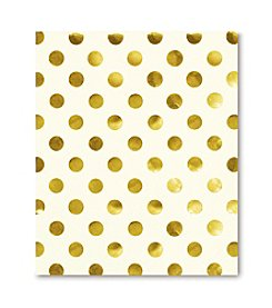 kate spade new york® Gold Dots Spiral Notebook