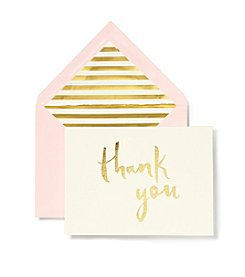kate spade new york® Paint Brush Thank You Note Card Set