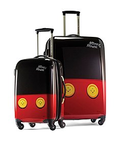 American Tourister® Disney™ Mickey Pants Hardside Luggage Collection + $50 Gift Card by mail