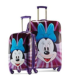 American Tourister® Disney™ Minnie Face Hardside Luggage Collection + $50 Gift Card by mail