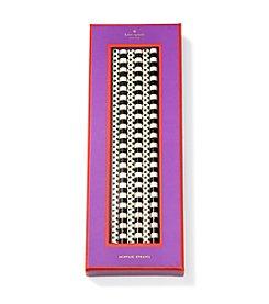 kate spade new york® Tuxedo Fete Black Dots Acrylic Straw Set