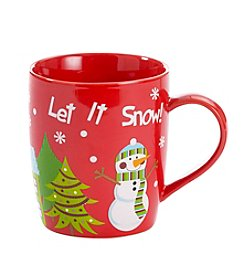 LivingQuarters® Let It Snow Mug