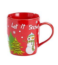 LivingQuarters® Let It Snow Mug