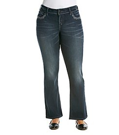Silver Jeans Co. Plus Size Suki Mid-Rise Bootcut Jeans