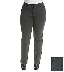 Gloria Vanderbilt® Plus Size Ponte Pants