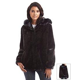Gallery® Microgroove Blouson Coat