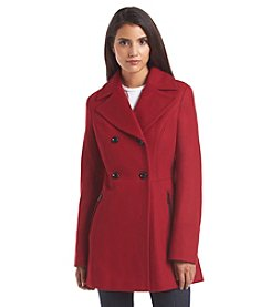 MICHAEL Michael Kors® Double-Breasted Notch Collar Coat