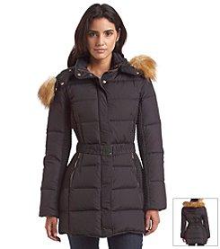Jones New York® Belted Down Coat