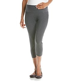 Three Seasons Maternity™ Solid Knit Capri Legging
