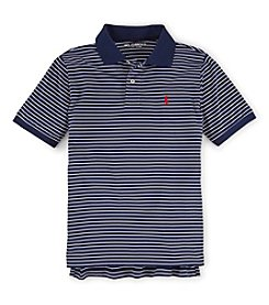 Ralph Lauren Childrenswear Boys' 8-20 Striped Performance Polo