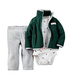 Carter's® Baby Boys' 3-Piece Little Scout Cardigan Outfit Set