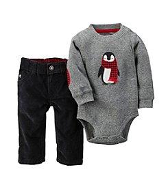 Carter's® Baby Boys' 2-Piece Elbow Patch Bodysuit & Corduroy Pant Set